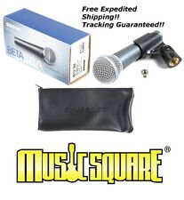 Shure Beta 58A Vocal Microphone What's Your Price?? BETA58 58 A Music Square!!