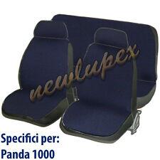 COPRISEDILI FIAT PANDA 1000 COPRISEDILE FODERE SPECIFICHE COLORE BLU SCURO