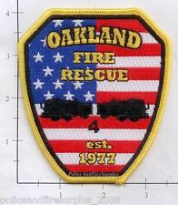 Tennessee - Oakland TN Fire Rescue Fire Dept Patch