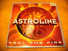 Cardsleeve Scd Astroline Feel The Fire 2TR 1998 eurodance