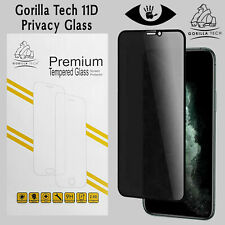 Gorilla Tech 11D Privacy Glass Screen Protector Full Coverage for Apple iPhones