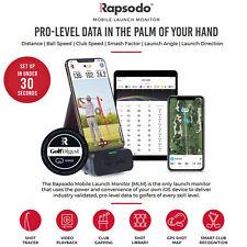 Rapsodo Mobile Launch Monitor Portable Golf Swing Training Aid iOS like SkyTrack