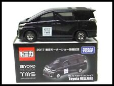 TOMICA Tokyo Motor Show 2017 TMS 12 TOYOTA VELLFIRE 1/65 TOMY BEYOND NEW 84