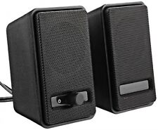AmazonBasics USB Powered Computer Speakers (A100), New, Free Shipping
