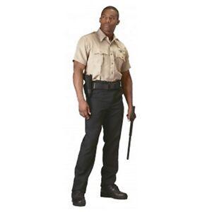 Rothco 30035 Men's Khaki Short Sleeve Uniform Shirt