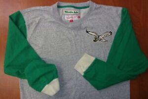 Mitchell & Ness NFL Philadelphia Eagles Football Throwback Logo Sweatshirt XL