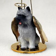 Cairn Terrier Gray Angel Tiny One Ornament Figurine Statue