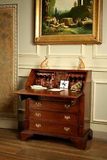 Solid Mahogany Georgian Bureau Desk Antique Reproduction DSK017 NEW