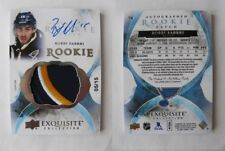 2015-16 UD Exquisite #74 Fabbri Robby 05/15 RC patch auto rookie HOT