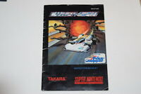 Cyber Spin Super Nintendo SNES Video Game Manual Only