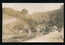 Somerset CHEDDAR Lion Rock c1910s? RP PPC