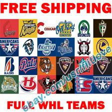 FULL Western Hockey League WHL Canada 2020 Flag Banner 3x5 ft - Pick Your Team