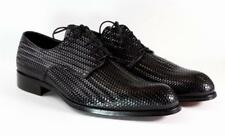 Ivan Troy Black Handmade Italian Leather Dress Shoes/Oxford Shoes/Men Shoes