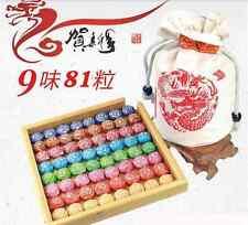 400g 9 kinds Flavor 81pcs Chinese Pu er tea Pu'erh health care puerh