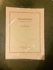 Roger Boutry Trompetunia partition score pour trompette et piano éditions Leduc