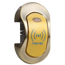 Metal Shell RF Card Tag Cabinet Sauna Shower Room Lock Locker Stand-alone