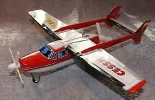 Blechspielzeug Flugzeug Cessna Sky Lark JA 8628 Japan Yonezawa Friktion Antrieb