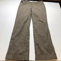 Banana Republic Martin Fit Womens Size 8 Brown Dress Pants A1611