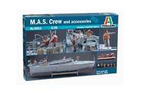 Italeri 5611 - 1/35 Figuren Set - M.A.S. Besatzung / Crew Und Zubehör - Neu