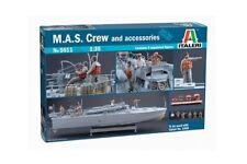 ITALERI 5611 - 1/35 Figure Set-M.A.S. equipaggio/Crew e Accessori-NUOVO