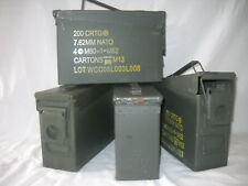FOUR PACK 30 CALIBER AMMO CANS Shipping Included in Cost