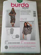 Burda  Pattern 7402 Womens PLUS Loose Fit Caftan & tunic Sz 8/10 - 32/34--UNCUT