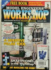 Model Engineers Workshop February 2016 A Sensitive Pillar Tool FREE SHIPPING sb