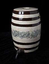 Antique Stoneware Salt Glazed Spirits Barrel The Pottery Fulham London