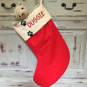 Personalised Pet Christmas Stockings, Stockings, Dog, Cat Gifts, Aus. Handmade