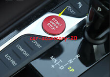 Red Engine Start Stop Button Ignition Key Cover For BMW 3 Series G20 2019 2020