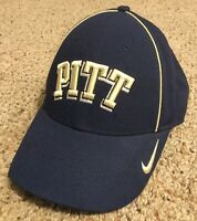 Pittsburgh Panthers PITT Nike NCAA Legacy 91 Dri Fit Adjustable Navy Cap Hat NEW