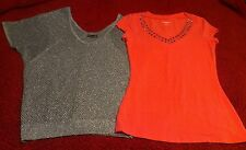 2 Nice Express Blouse lot, Sz. Xtra Small but fits as Small. Perfect Condition
