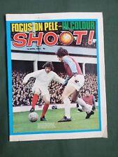 SHOOT  FOOTBALL MAGAZINE  1 APRIL1972   PELE    LOU MACARI   COLIN TODD