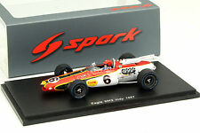 Spark 1/43 Rislone Eagle MK3 #6 Indy 500 1967 Bobby Unser
