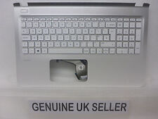 HP 15-AK085na 15-ak Uk Teclado Superior Cubierta REPOSAMANOS SERIES Case Plastics