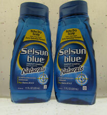 Selsun Blue Ichy Dry Scalp Formula Anti-Dandruff Shampoo Lot of 2 (11 fl oz) BFR