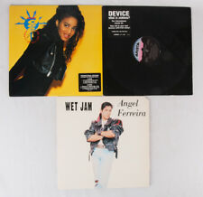 "Instant collection! 12"" Singles LP Record Lot of 3: Daisy Dee, Device, Ferreira"