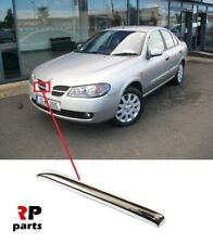 FOR NISSAN ALMERA N16 2003-2007 NEW FRONT BUMPER CENTER GRILL CHROME TRIM RIGHT