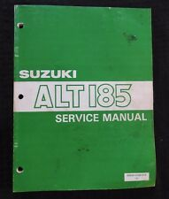 1984 1985 SUZUKI 185 ALT185 3-WHEEL TRIKE ATV REPAIR MANUAL VERY GOOD SHAPE