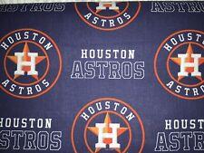 Houston Astros Fabric 1 Yard (36 Inches By 58 Inches) W FREE Elastics