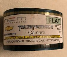 CAMARO TRANSFORMERS 3 FILM AD 35MM FLAT CHEVROLET PARAMOUNT PICTURES!!!