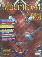 GUIDA ALLE APPLICAZIONI MACINTOSH APPLE ANNO 1993