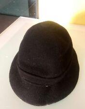 Kangol Design black felt hat unknown size see pics soft bowler style