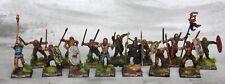 14x Ancient Gallic Celt Warriors #2 Pro Painted Saga warlord games Hail Caesar