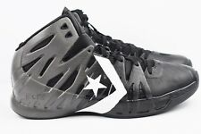 Converse MVP Mid Mens Size 10.5 Basketball Shoes Gunmetal Black 132702C Flywire