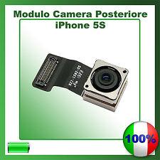 MODULO CAMERA POSTERIORE RETRO 8 MPX FOTOCAMERA PER IPHONE 5S