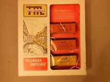 "HO TRAIN MINIATURE BILLBOARD NOSTALGIA 8703 SANTA FE ""MAPS"" REFRIGERATOR CARS"