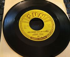 SUN 309 Johnny Cash I Just Thought You'd Like to Know/It's Just About.. NEW