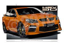 2017 HSV GTS - VF GTS Digital Car Drawings ( 8 Colours )