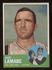 1963 Topps #251 Lamabe in ExMt-NrMt condition